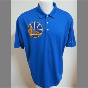 2XL Nike Dri-Fit Golden State Mens Poly #97P Polo
